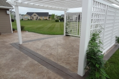 Stamped-Concrete-Patio-With-Border-Menasha-WI