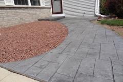 Stamped-Concrete-Sidewalk-Kaukauna-WI