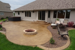 Stamped-Patio-with-Fire-Pit-Appleton-WI